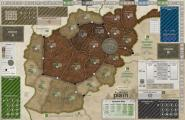 A Distant Plain, Mounted Map