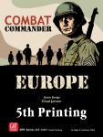 Combat Commander Europe, 5th Printing