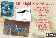 Corsair Leader, Miniatures Airplane Stands