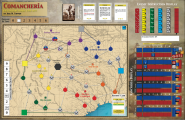 Comanchería: Rise and Fall of the Comanche Empire, Mounted Map