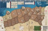 Colonial Twilight: French-Algerian War, Mounted Map