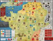 Falling Sky: The Gallic Revolt against Caesar, Mounted Map