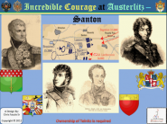 Incredible Courage at Austerlitz - Santon