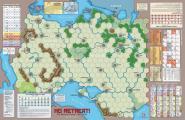 No Retreat, Mounted Map