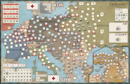 Paths of Glory, Deluxe Edition Mounted Mapboard