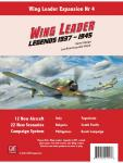 Wing Leader: Legends 1937-1945