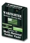 Warfighter Modern, Shadow War Exp 29 Shadow War Multi national soldiers