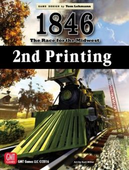 1846: The Race to the Midwest, 2nd Printing