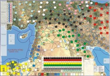 Assyrian Wars Map