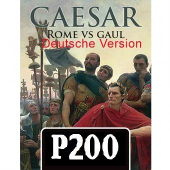 Caesar Rom gegen Gallien, Deutsche Version