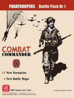 Combat Commander Battle Pack 1: Paratroops, 3rd Printing