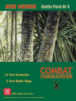 Combat Commander Battle Pack 4: New Guinea, 2nd Printing