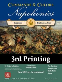 Commands & Colors: Napoleonics Exp 2 Russian Army, 3rd Printing