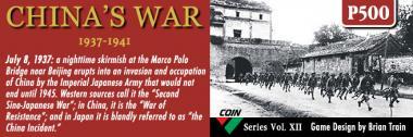 China's War: 1937-1941