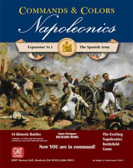 Commands & Colors: Napoleonics Exp 1 Spanish Army, 3rd Printing