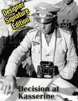 Decision At Kasserine: Rommel's Last Chance, Designer Signature Edition