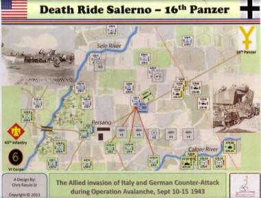 Death Ride Salerno 16th  Panzer