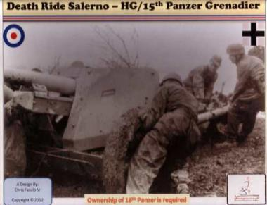 Death Ride Salerno  HG/15  Panzer Gren