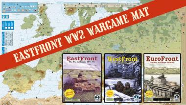 EastFront Series Neoprene Wargaming Map