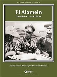 El Alamein, Rommel at Alam El Halfa (Folio)