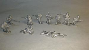 Warfighter WWII Exp17, Russia Metal Soldier Minis