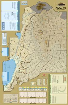 FAB #3: Golan `73 Mounted Mapboard