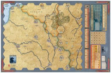 Fields of Despair, Mounted Map
