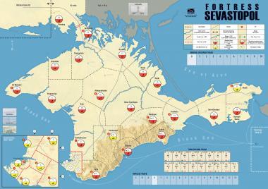 Fortress Sevastopol Mark Simonitch Map