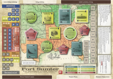 Fort Sumter, Mounted Map