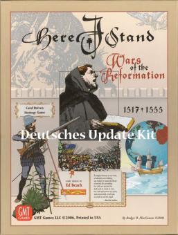 Here I Stand: Update Kit Deutsch