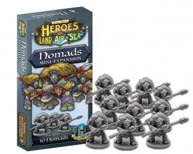 Heroes of the Land, Air and Sea: Nomads Exp.