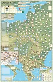 Illusions of Glory, Mounted Map