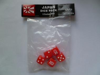 Japan Six-sided DiceWWII Dice