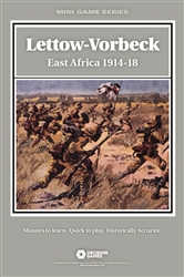 Lettow-Vorbeck, East Africa 1914-18