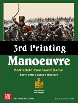 Manoeuvre, 3rd Printing