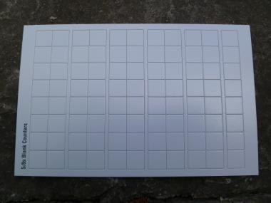 Blank Counter Sheet 5/8 Inch