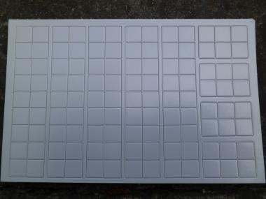 Blank Counter Sheet 9/16 Inch