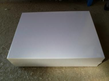 "3"" Deep Heavy Duty White Game Box"