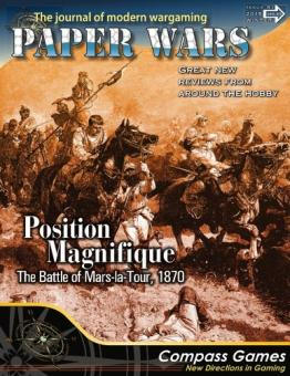 Paper Wars 81 Position Magn.: Mars le Tour 1870