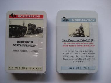 Paths of Glory Set of French cards