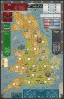 Pendragon, Mounted Map