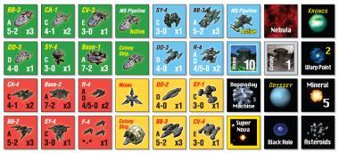 Space Empires, Countersheets Reprint Edition
