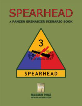 Panzer Grenadier: The Spearhead Division book