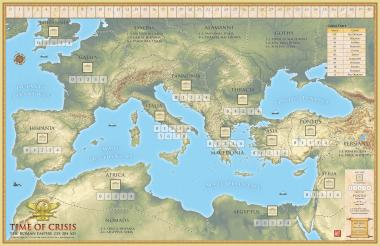 Time of Crisis, Mounted Map