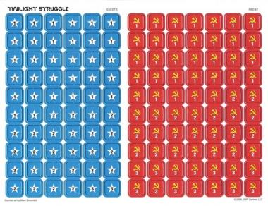 Twilight Struggle Deluxe Countersheet Pack