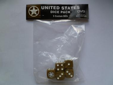 United States Six-sided DiceWWII Dice