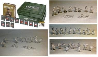 Warfighter WW II, Combo Pack 2 (Europe Core Game + Exp 1-13 + GER,RUS,UK,US Minis)