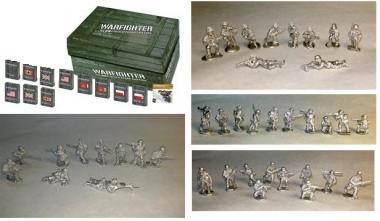 Warfighter WW II, Combo Pack 3 (Exp 1-13 + GER,RUS,UK,US Minis)