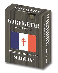 Warfighter Europe, Exp 46 Maquis