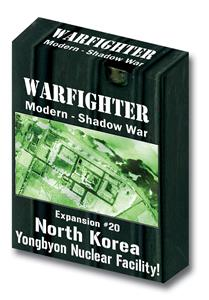 Warfighter Shadow War, Exp 20 Shadow War North Korea Yongbyon Nuclear Facility